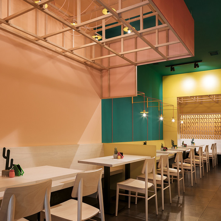 Erbalunga Estudio creates restaurant interior inspired by its Mexican menu (фото 8)