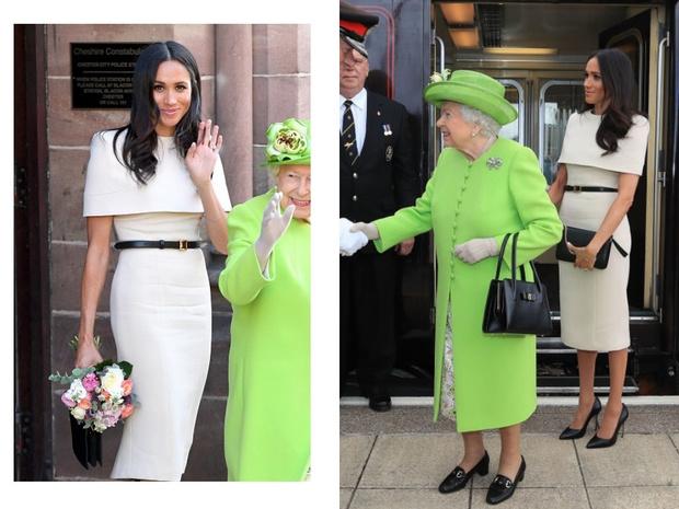 Прощай, королева: лучшие выходы Меган Маркл в качестве члена монаршей семьи (фото 21)