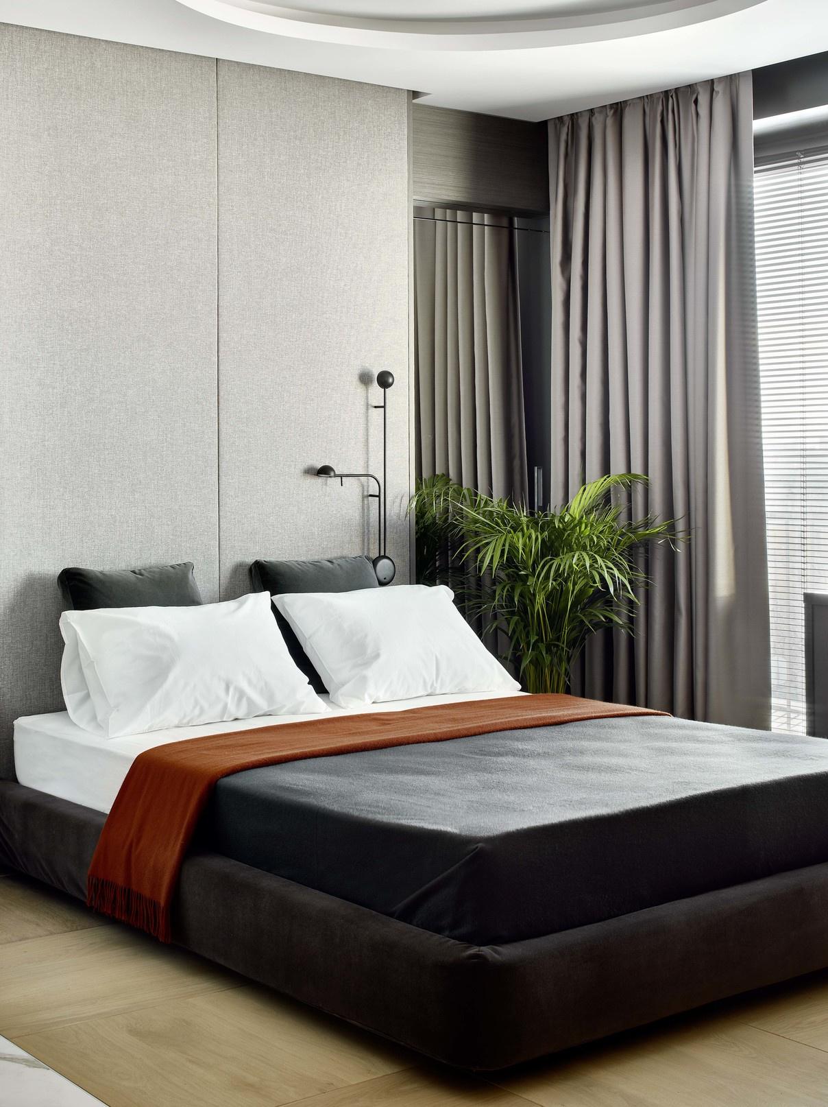 Текстильные панели в спальне: 10 примеров (галерея 0, фото 3)