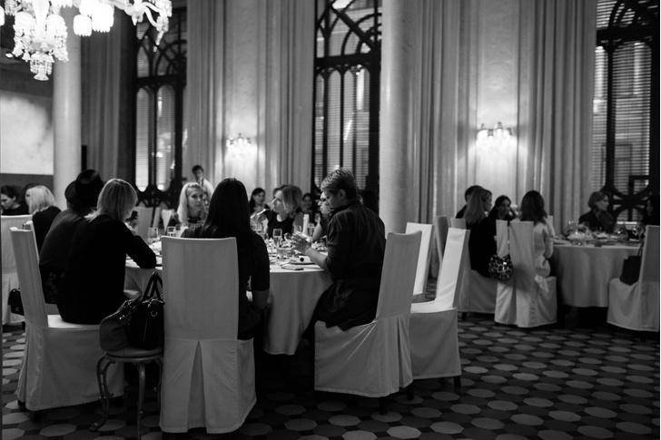 Презентация la prairie Caviar Spectaculaire в Cristal Room Baccarat