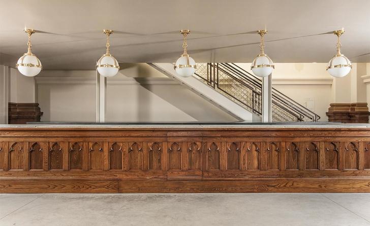 Дизайн-галерея в старой церкви Сан-Франциско (фото 4)