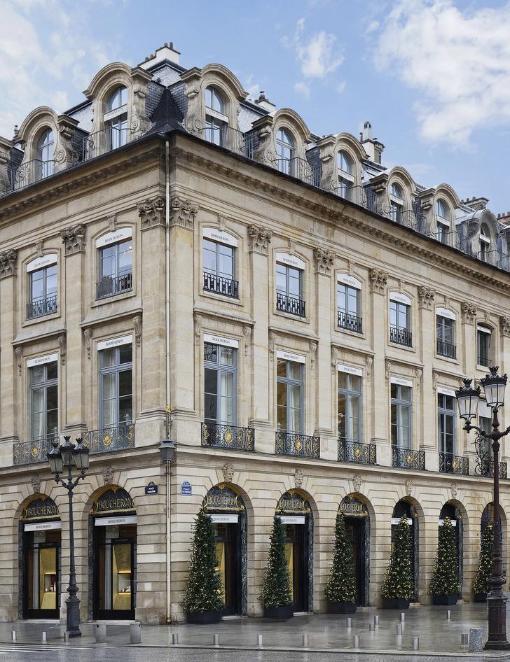 Обновленный особняк Boucheron на Вандомской площади (фото 0)