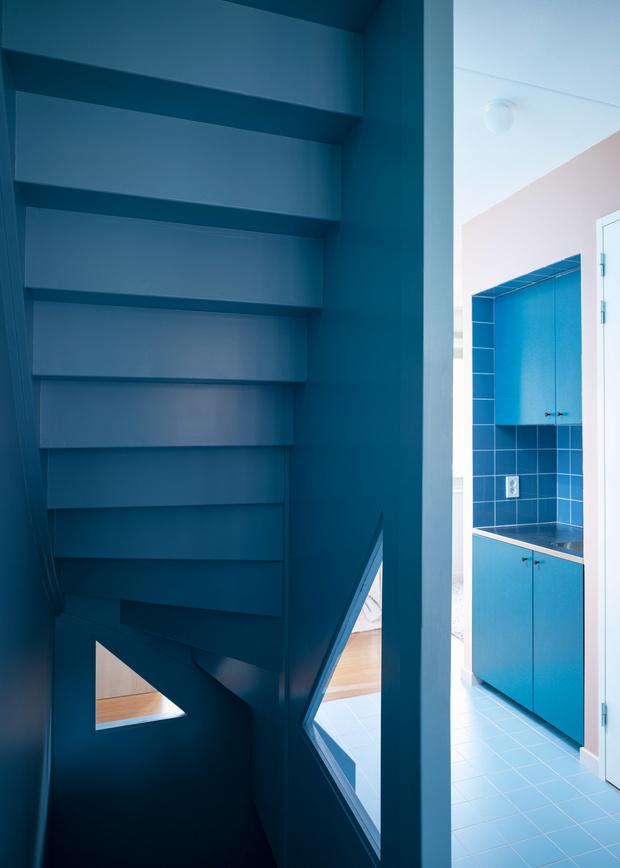 цветной дом в Роттердаме (фото 14)