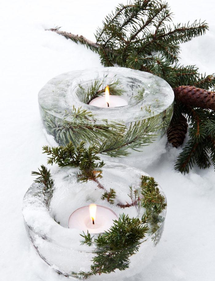 Чем заменить новгоднюю елку? Зеленый декор своими руками (фото 11)