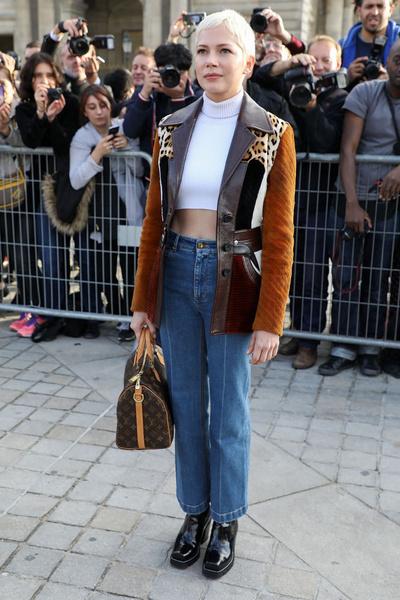 Наталья Водянова и Кейт Бланшетт на показе Louis Vuitton | галерея [1] фото [4]