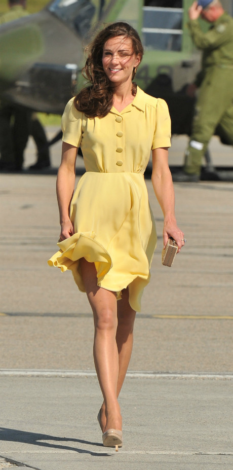 10 раз, когда Кейт Миддлтон пренебрегла королевским дресс-кодом фото [6]