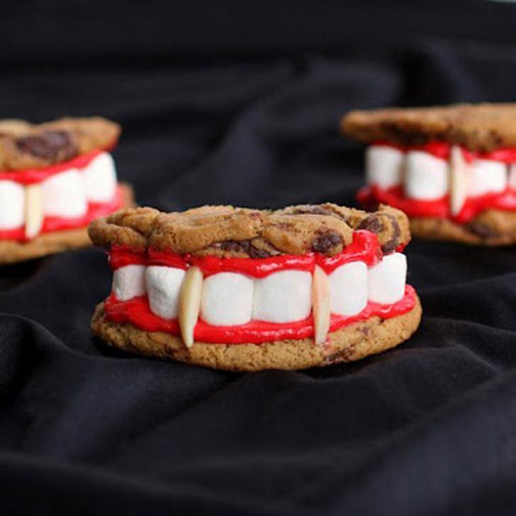 Язык проглотишь: страшно вкусные десерты на Хэллоуин фото [6]