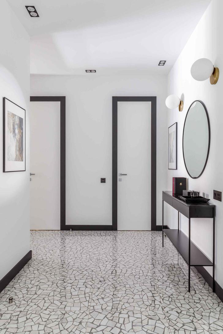 Современная интерпретация стиля mid-century для двухкомнатной квартиры в Краснодаре (фото 10)