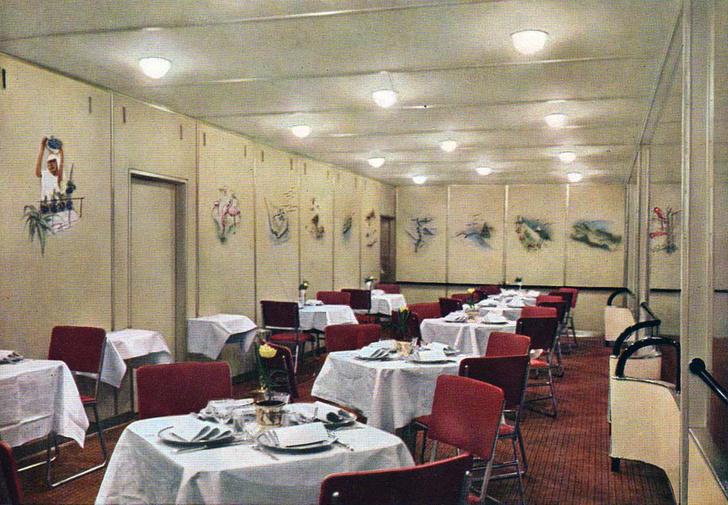 Интерьеры дирижабля «Гинденбург» (фото 4)