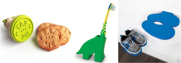 Штамп для печенья Eat Me Держатель для зубной щетки Dinosaur Полка для обуви Footprint