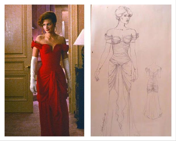 История одного платья: красный наряд Джулии Робертс из «Красотки» (фото 3)