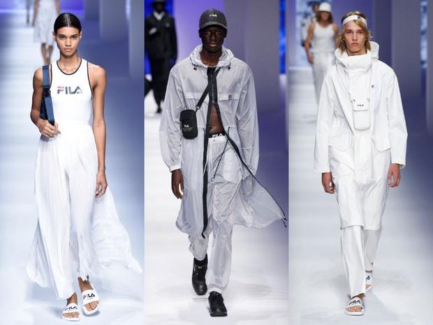 Чем удивил спортивный бренд Fila на Неделе моды в Милане? (фото 1)