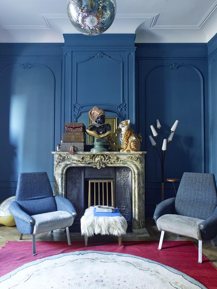 Синий цвет в интерьере: 30 проектов (галерея 0, фото 9)