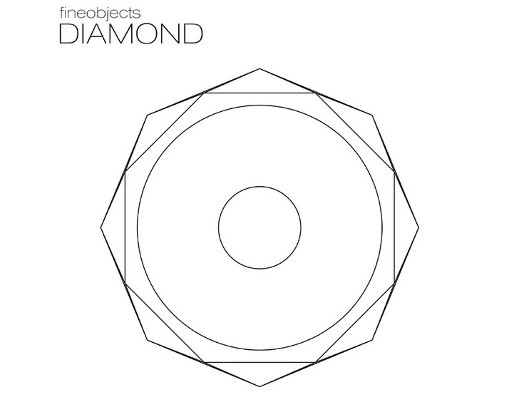 Раковина Diamond из бетона от Fineobjects