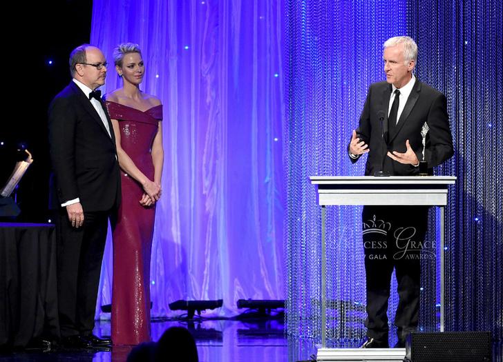 Князь Альбер и княгиня Шарлен на Princess Grace Awards в Лос-Анджелесе фото [3]
