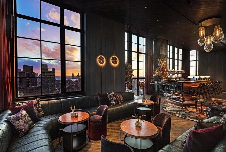 Дизайнерский отель с микро-номерами в Нью-Йорке (фото 15)