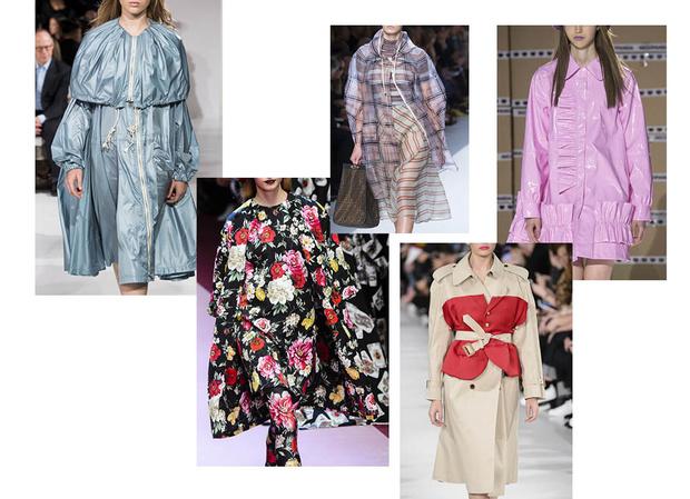 Модные женские пальто весна 2018 фото