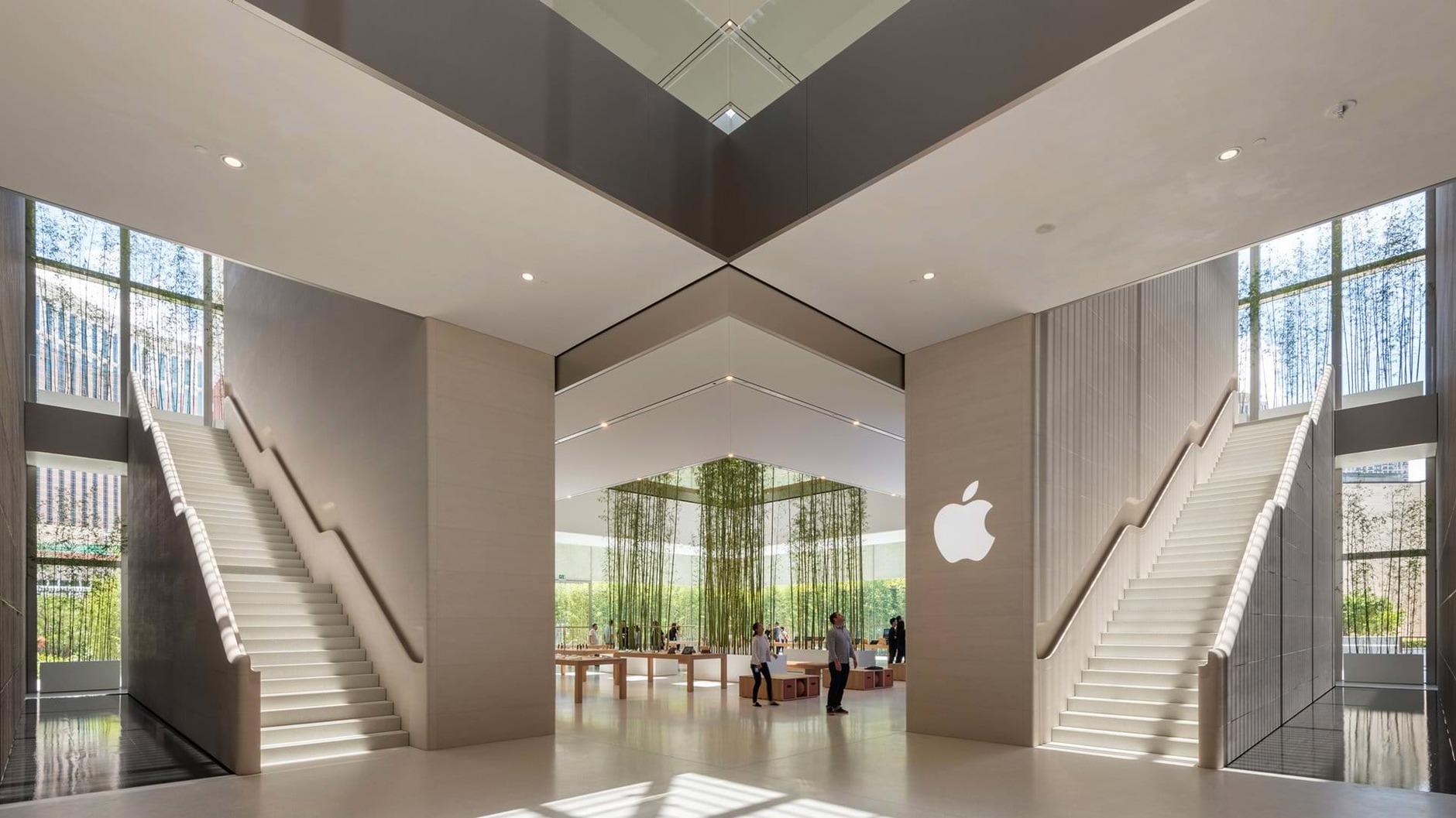 10 самых эффектных бутиков Apple (галерея 23, фото 0)