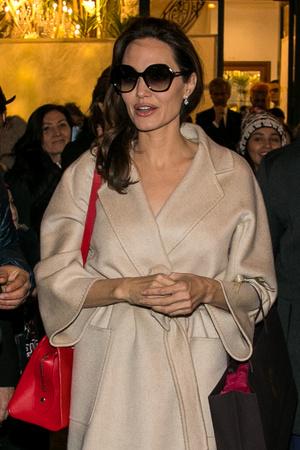 Фото дня: Анджелина Джоли в Париже (фото 5)