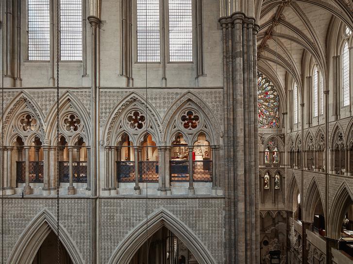 Путь к Бриллиантовой галерее: новая пристройка к Вестминстерскому аббатству (фото 8)