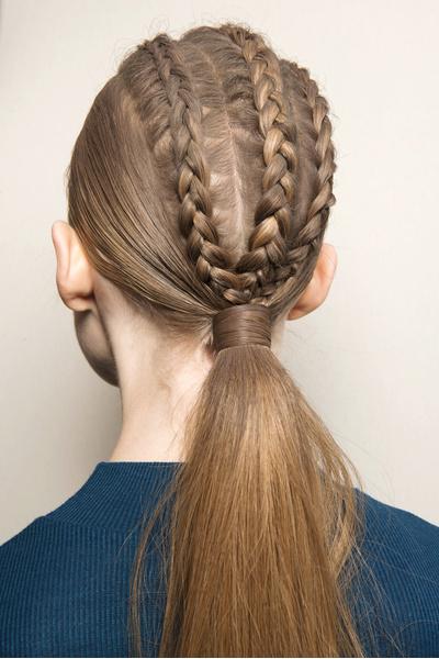 Бьюти-тренды осень-зима 2017/18: волосы | галерея [3] фото [2]