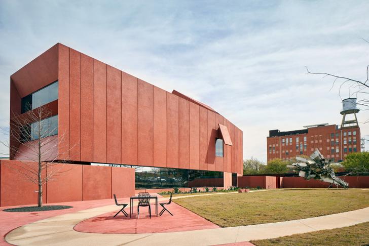 Рубиновый город: арт-центр по дизайну Дэвида Аджайе в Техасе (фото 4)