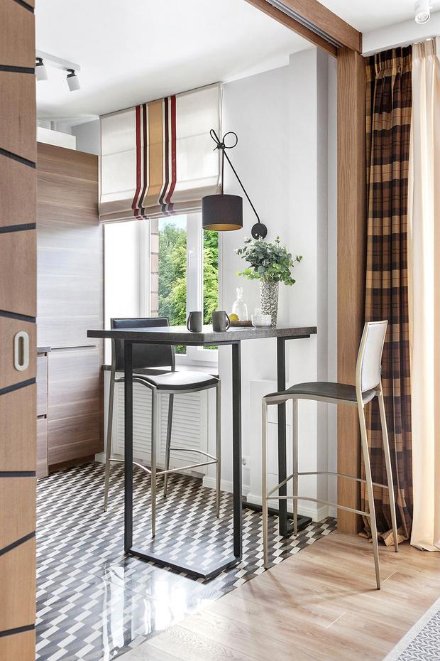Маленькая кухня-столовая: 12 практичных советов (фото 36)