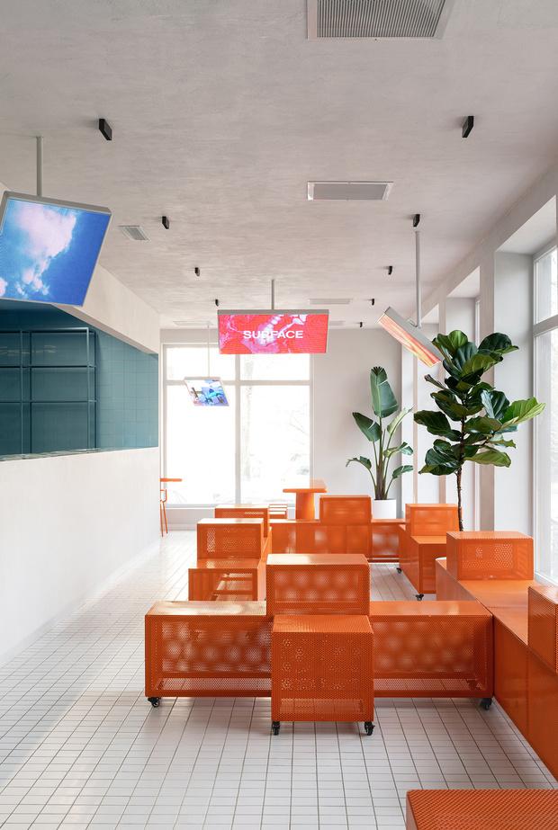 Яркое «тетрис»-кафе в Ростове-на-Дону (фото 2)
