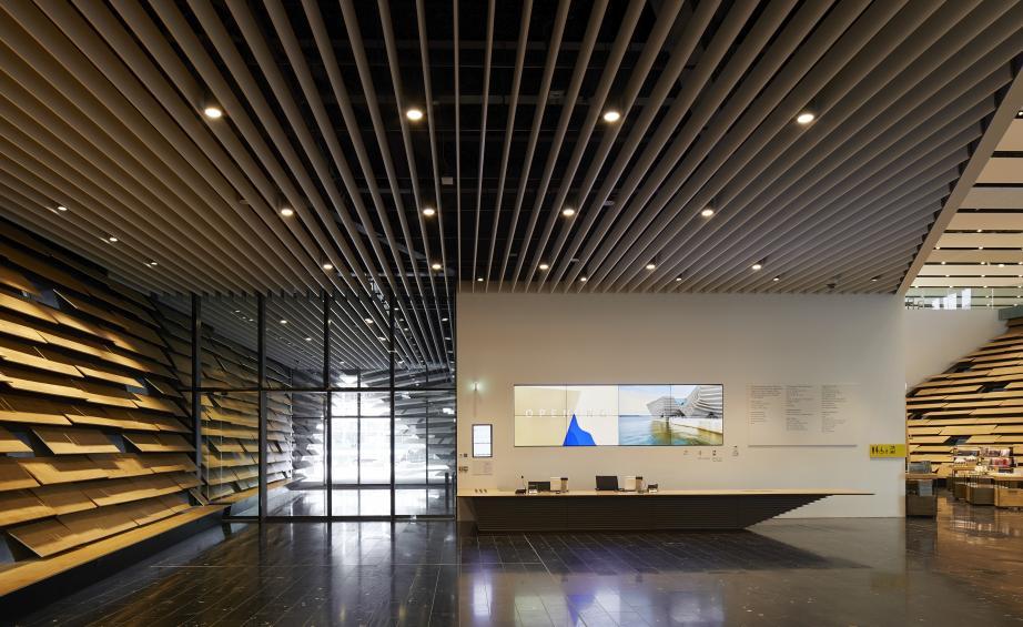 Музей Виктории и Альберта по проекту  Кенго Кумы открывается в Данди (галерея 11, фото 0)