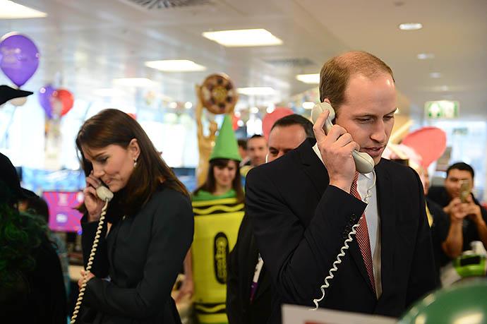 Кейт Мидллтон и принц Уильям на ICAP Charity Day
