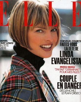 Oh bella! Лучшие обложки ELLE с легендарной Линдой Евангелистой (фото 3.1)