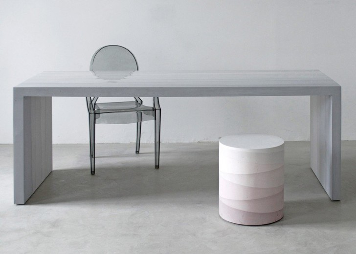 Коллекция мебели из цемента от Фернандо Мастранжело