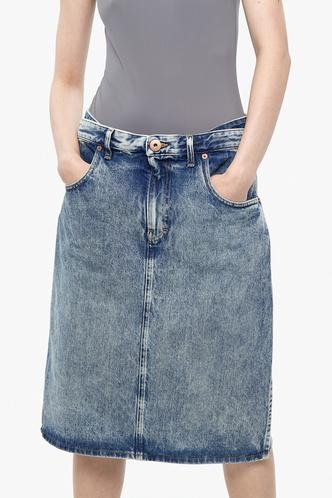 Всего одна юбку на весну — джинсовая миди, как носили наши мамы (фото 7.2)