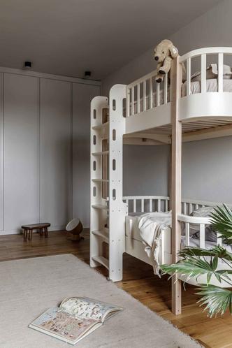 Брутальная квартира в бежевых тонах с черной спальней 72 м² (фото 18.1)