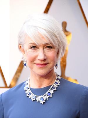 Синяя птица: Хелен Миррен на премии«Оскар-2018» (фото 1.2)