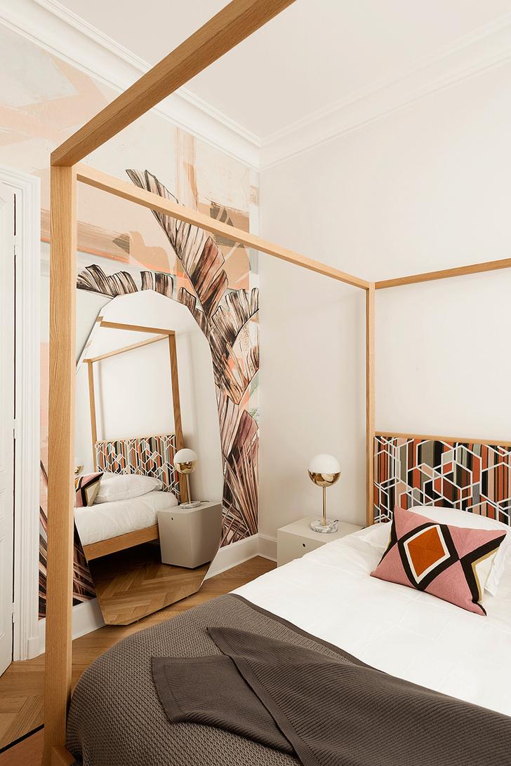 Квартира в зеленых тонах фото [8]