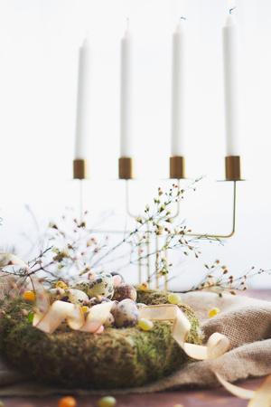 Как украсить праздничный стол к Пасхе ? (фото 11)