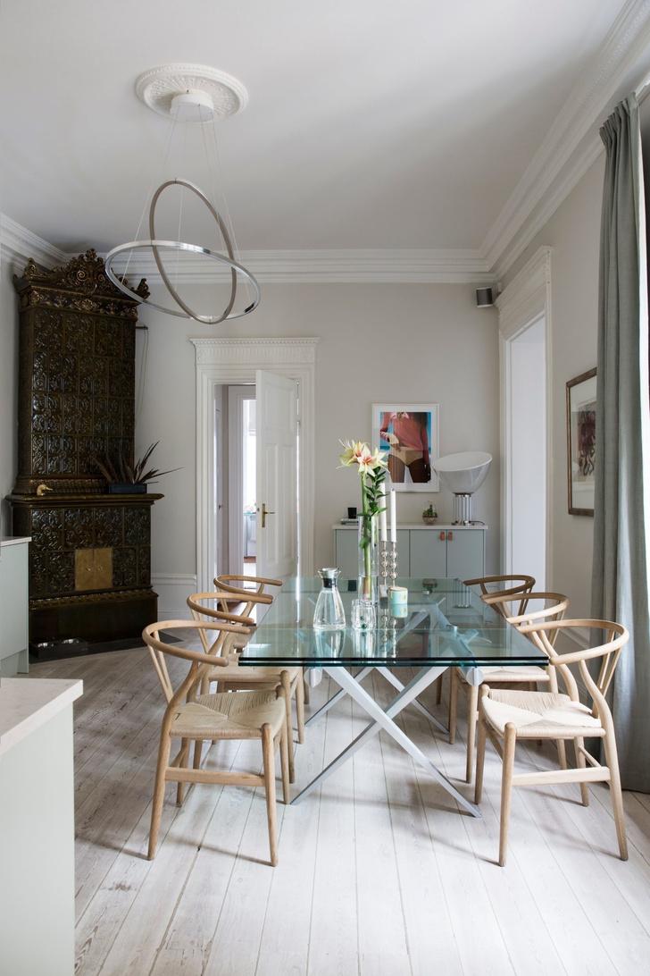 Эклектичный интерьер квартиры в Стокгольме (фото 8)