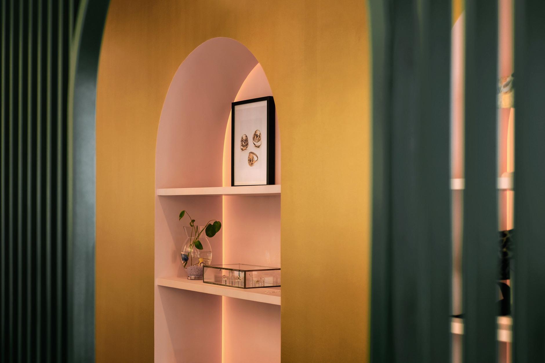 Яркий проект Pastel Rita в Монреале от студии Appareil Architecture (галерея 5, фото 2)