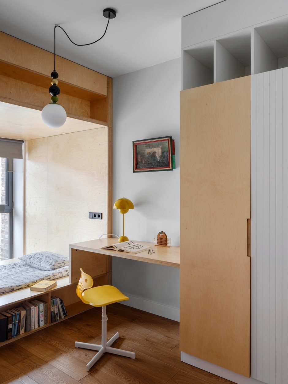 От заката до рассвета: квартира в стиле лофт (фото 16)