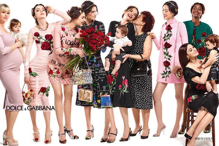 Моника Беллуччи рекламирует Dolce & Gabbana