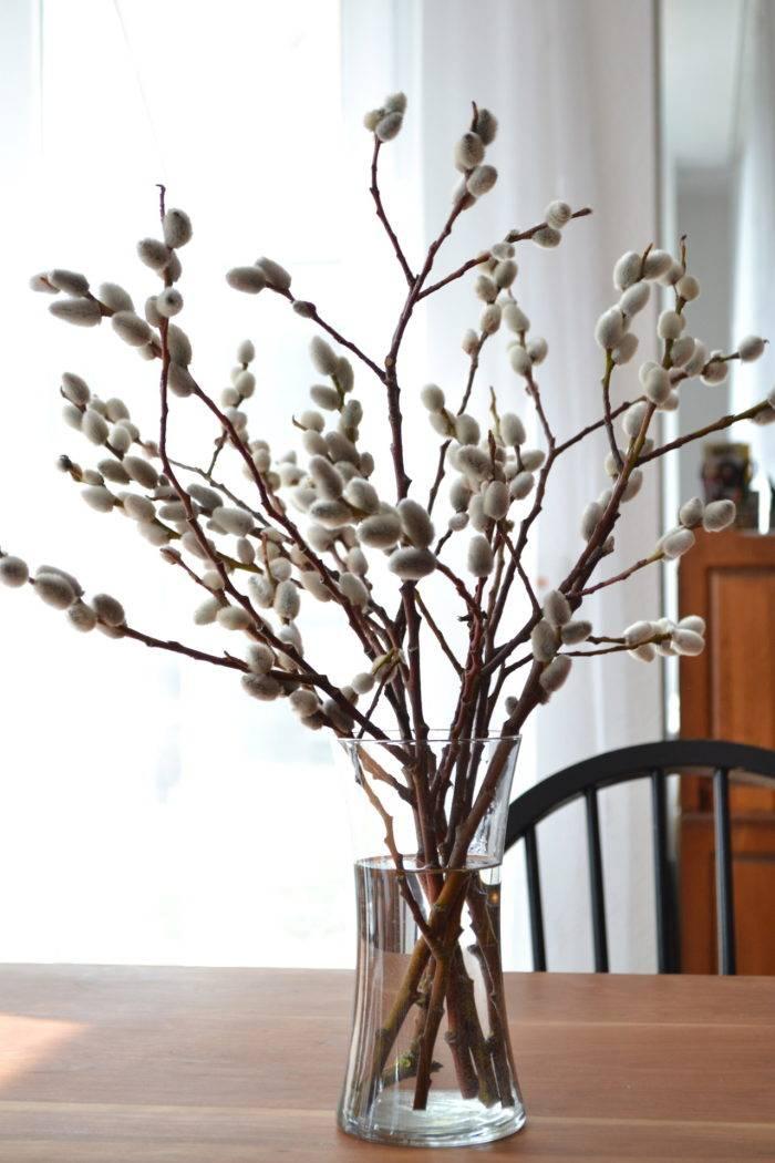 Украшаем дом к весне: букеты из веток (фото 14)