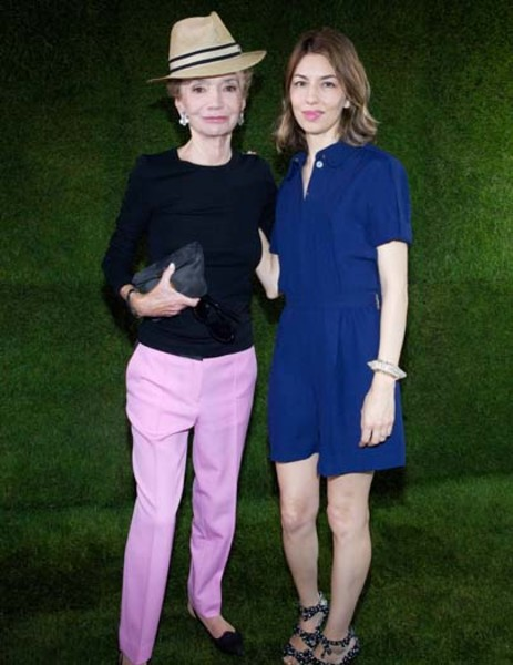 Lee Radziwill Sofia Coppola