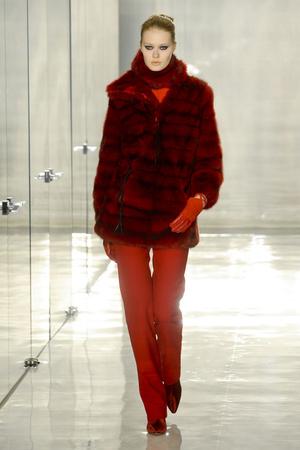 Показ Chado Ralph Rucci коллекции сезона Осень-зима 2011-2012 года prêt-à-porter - www.elle.ru - Подиум - фото 229423