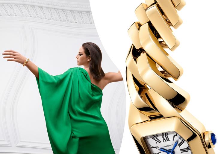Новые и очень красивые часы Maillon de Cartier поступили в продажу (фото 1)