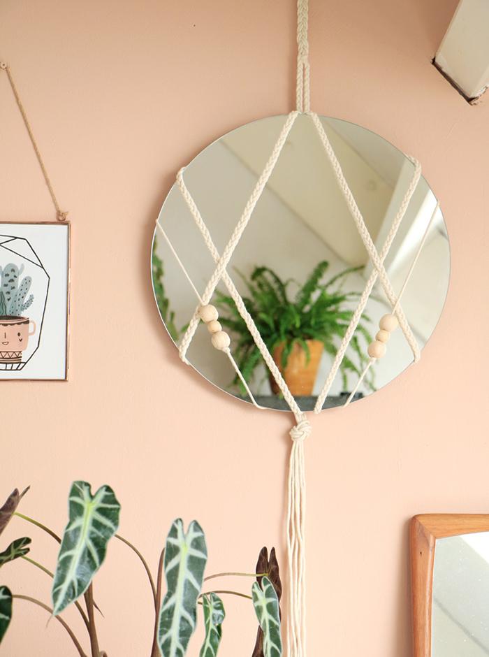 Мастер-класс: дизайнерские зеркала своими руками (фото 5)