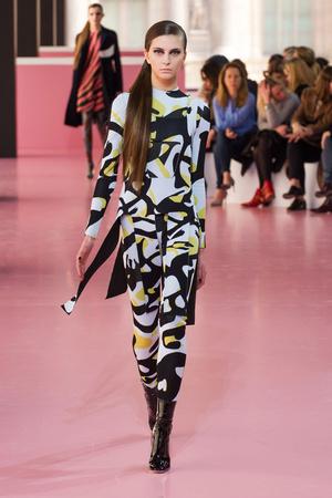 Показ Christian Dior коллекции сезона Осень-зима 2015-2016 года Prêt-à-porter - www.elle.ru - Подиум - фото 596023