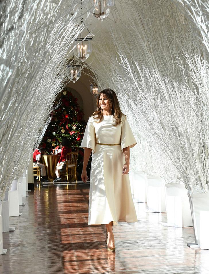 Мелания Трамп украсила Белый Дом к Рождеству фото [5]