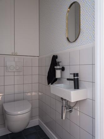 Дитя заката: фламинго и другие яркие  решения в типовой квартире 55 м² (фото 14.2)