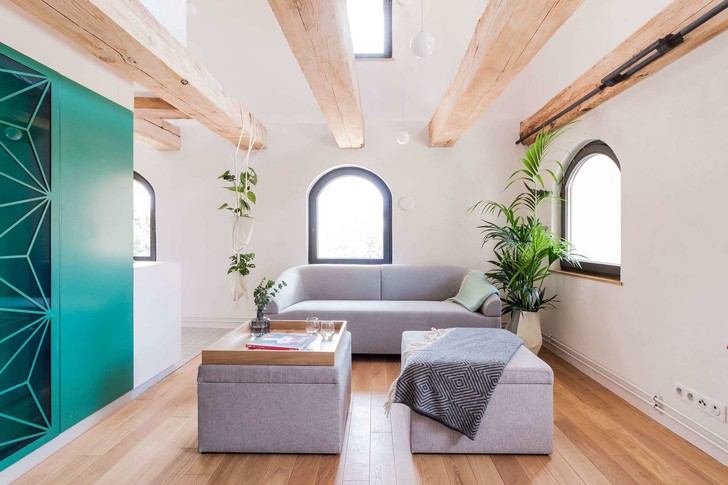 Современные апартаменты в готическом здании (фото 6)